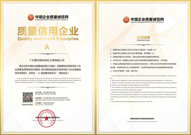 中国质量信用企业评定认证证书.png